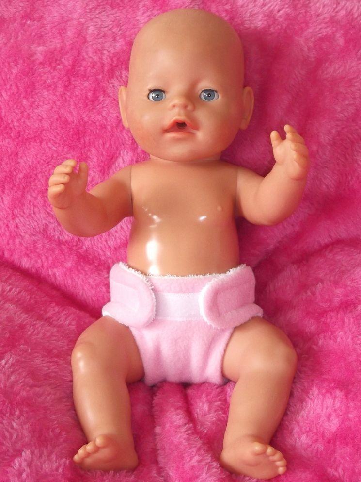 Fabric Nappy for Baby Born / La Newborn
