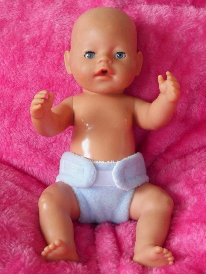 Fabric Nappy for Baby Born Boy / La Newborn Boy