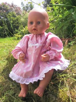Little Sweethearts Dress for Baby Dolls
