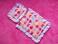 Pretty in Pink Bedding Set for Doll's Cots and Prams
