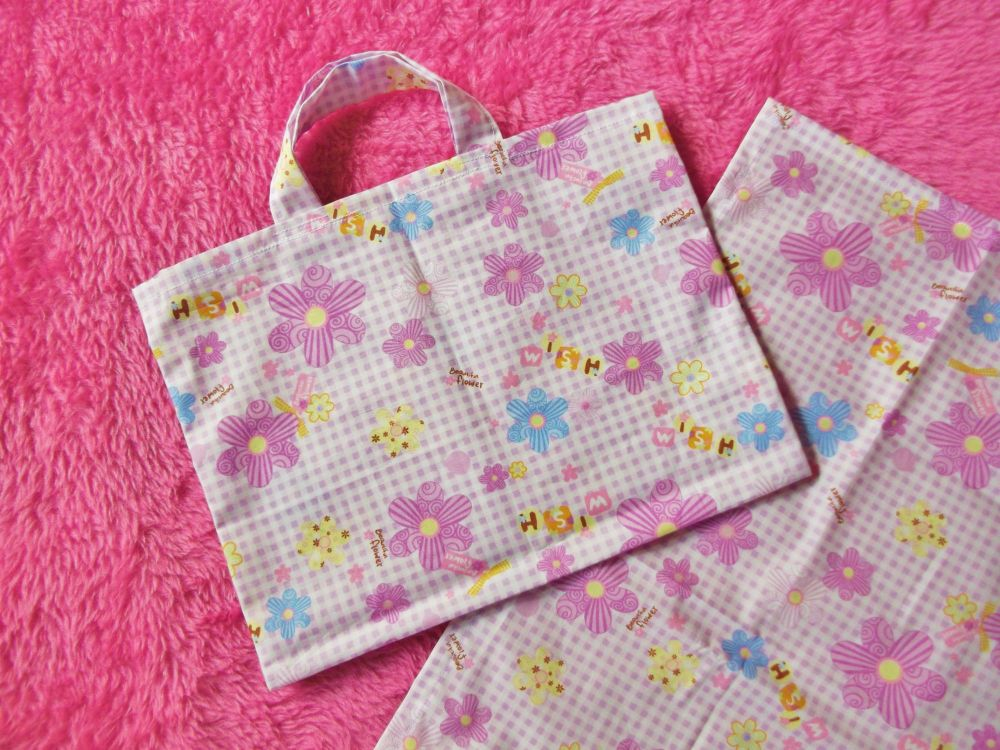 Lilac Wishes Changing Bag and Mat