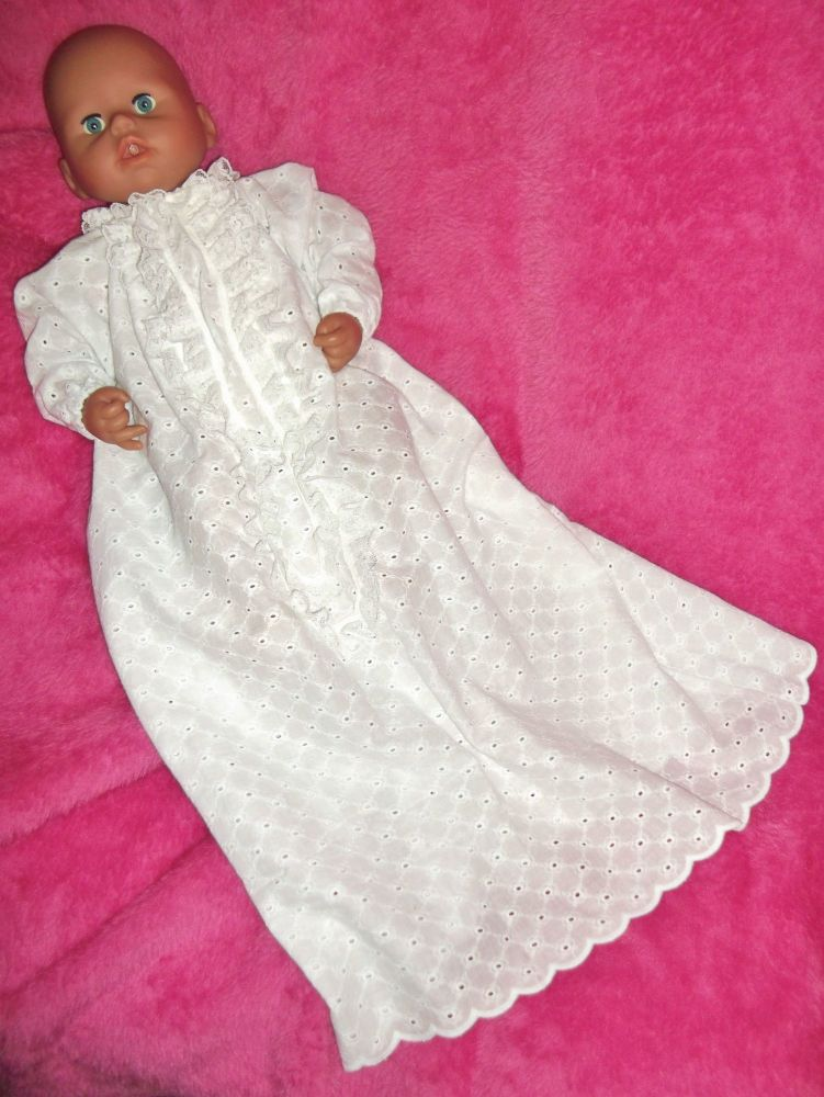Christening Gown for Baby Dolls