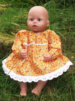 Sweetie Treats Dress for Baby Dolls - Ex-Demo, Size 1