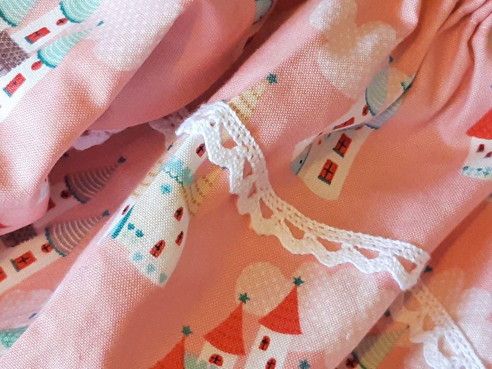 Fairy Castles Nightie for Baby Dolls