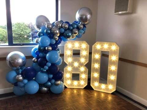 Balloon display and Lights