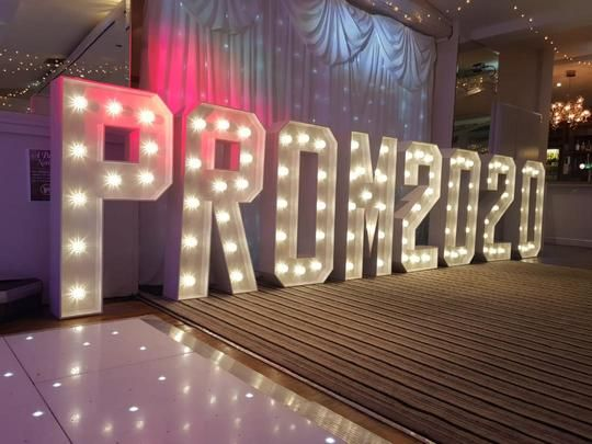 Light Up letters Prom Lights Prom 2020