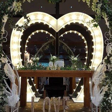 Light Up Arch Love Heart Arch LED Arch