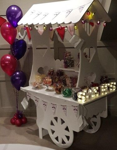 Sweet Cart Candy Cart