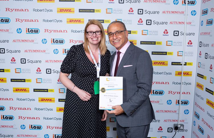 Award with Theo Paphitis