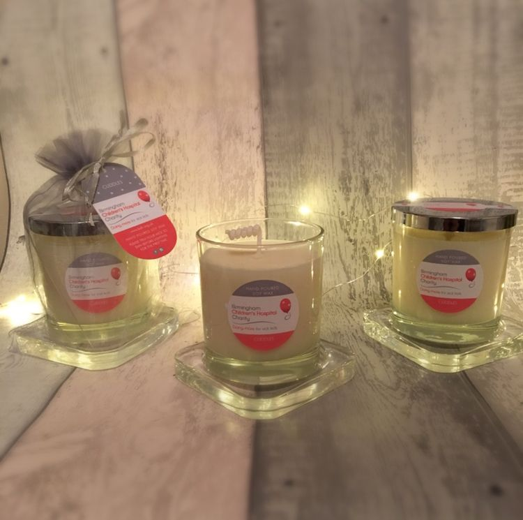 Charity Candle for Birmingham Childrens Hospital