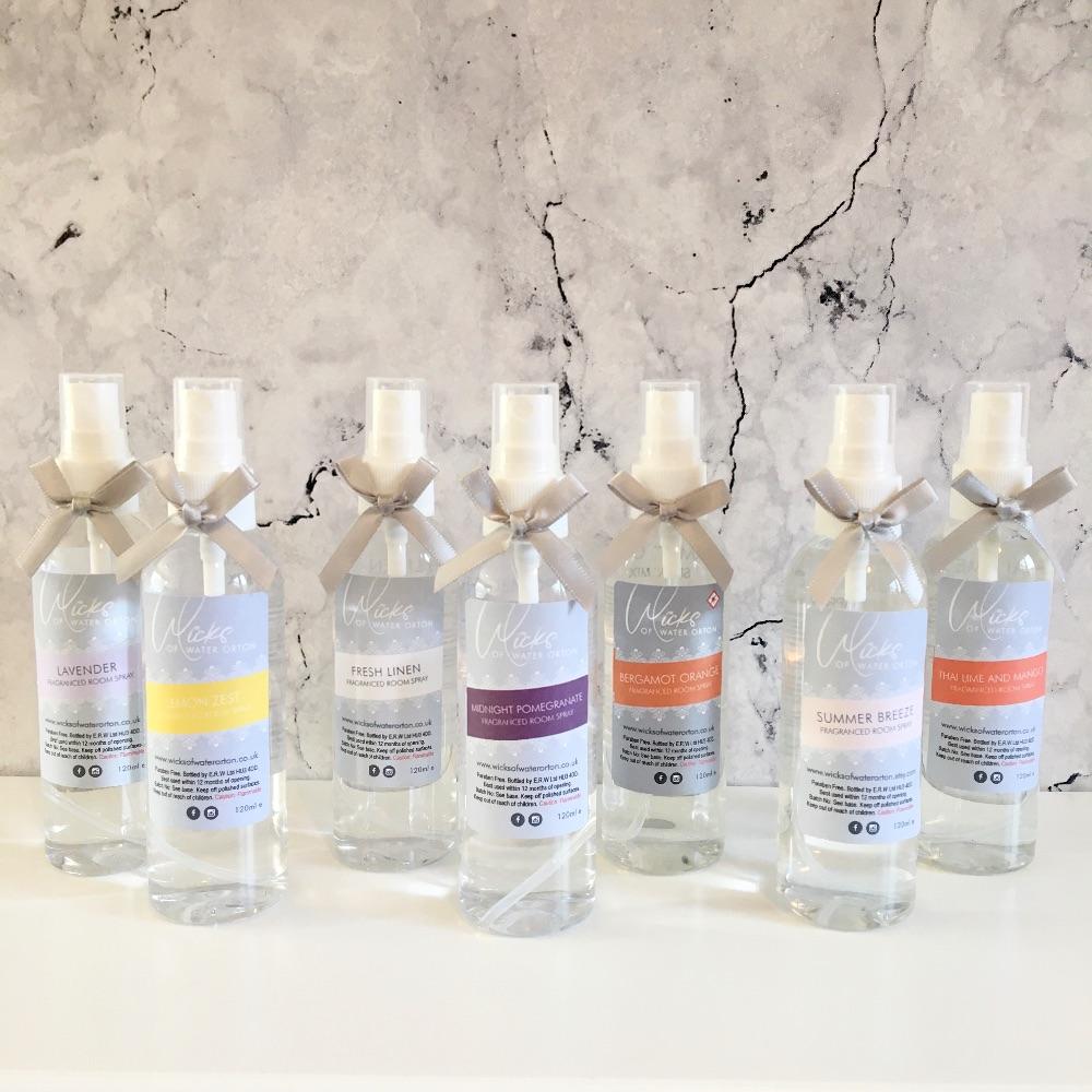 <!--008--> Fragranced Room Sprays