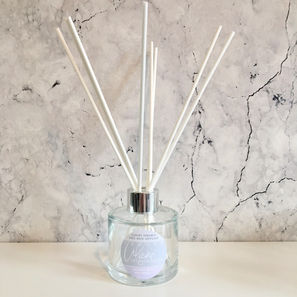 Lavender Luxury Reed Diffuser (Paraben Free)