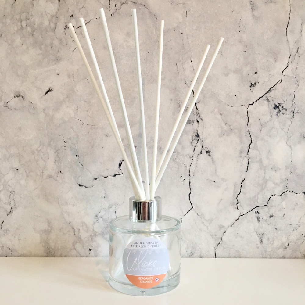 Bergamot Orange (repellent) Luxury Reed Diffuser (Paraben Free)