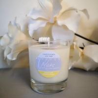 Lemon and Vanilla Natural Soy Candle 200g