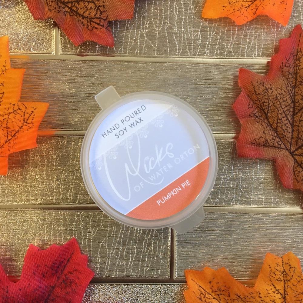 Pumpkin Pie Natural Soy Wax Melt Pot 20g