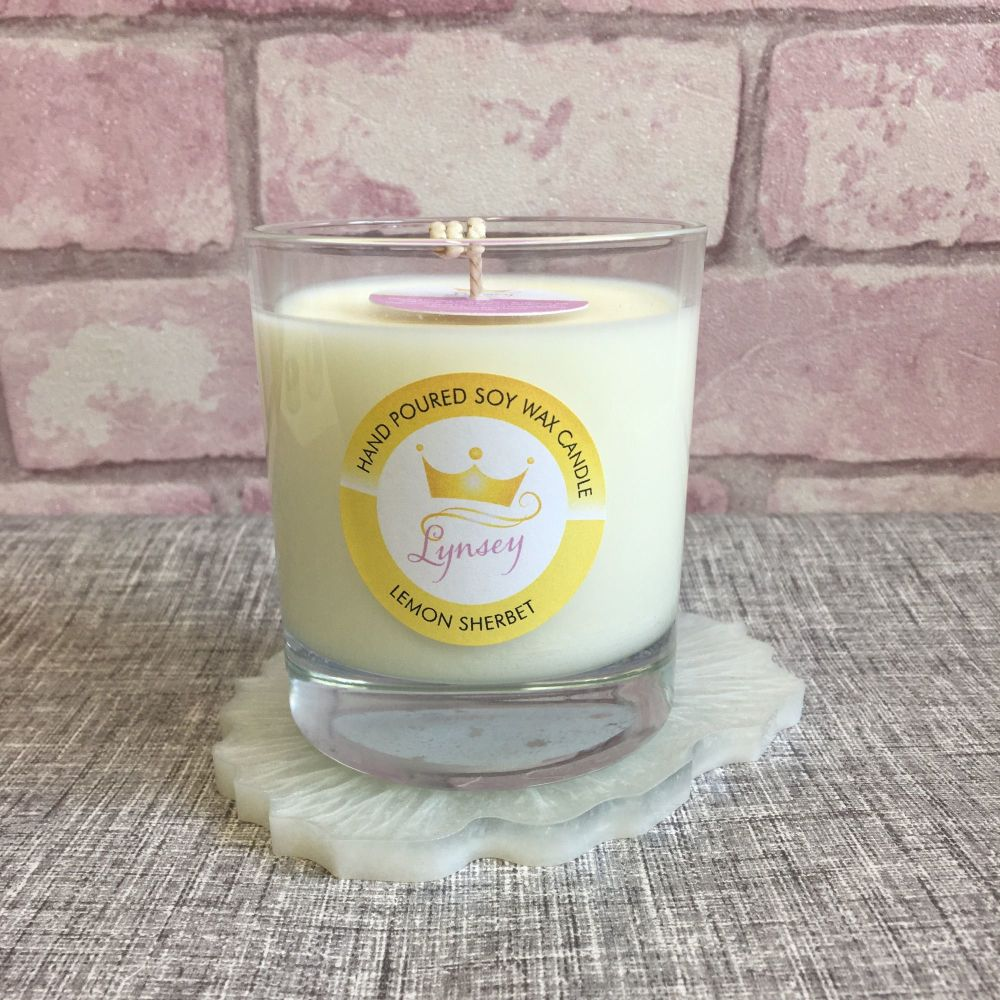 Lynsey Queen Of Clean | Lemon Sherbet Natural Soy Candle 200g