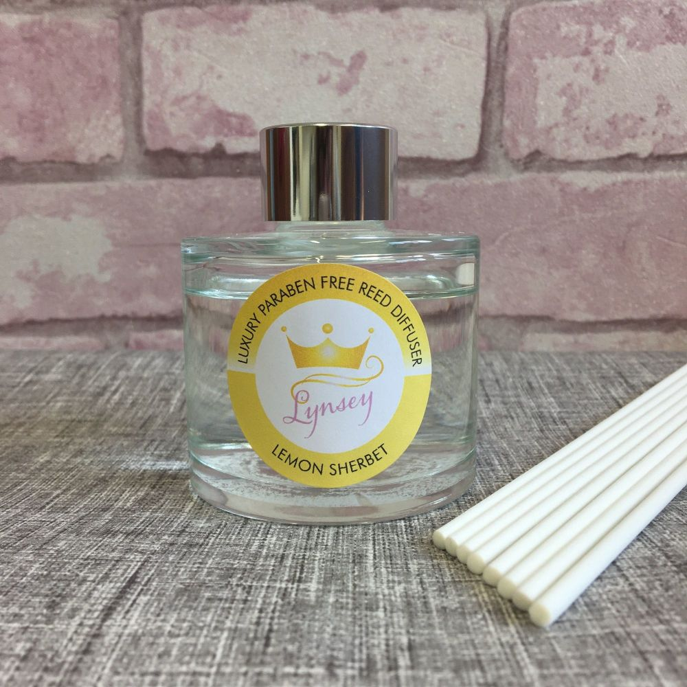 Lynsey Queen Of Clean | LEMON SHERBET | Luxury Paraben Free Reed Diffuser
