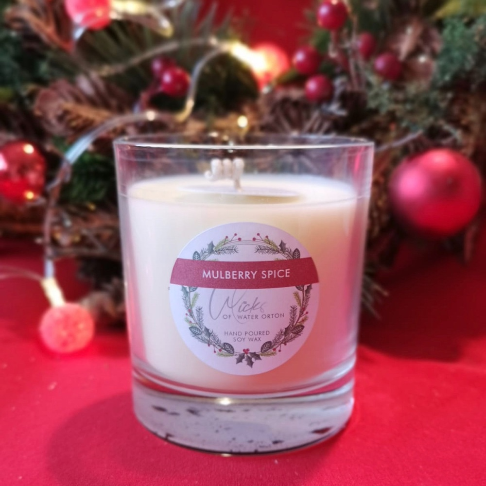 Christmas 2020 | Mulberry Spice Natural Soy Candle 200g