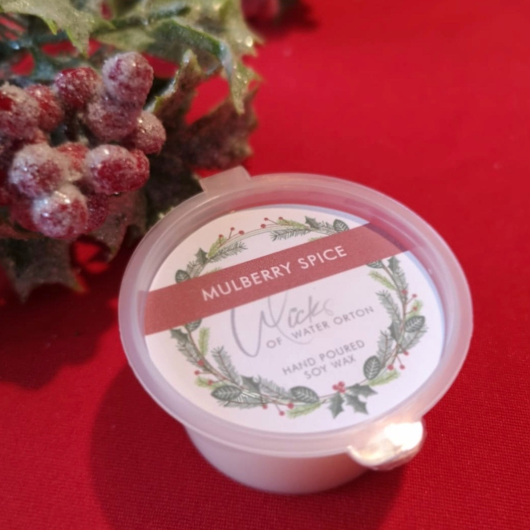 Christmas 2020 | Mulberry Spice Natural Soy Wax Melt Pot 20g