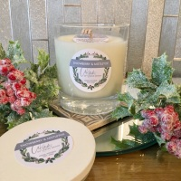 Christmas 2020 | Snowberry & Mistletoe Natural Soy Candle 200g ***PRE SELL - DISPATCHED IN DEC***