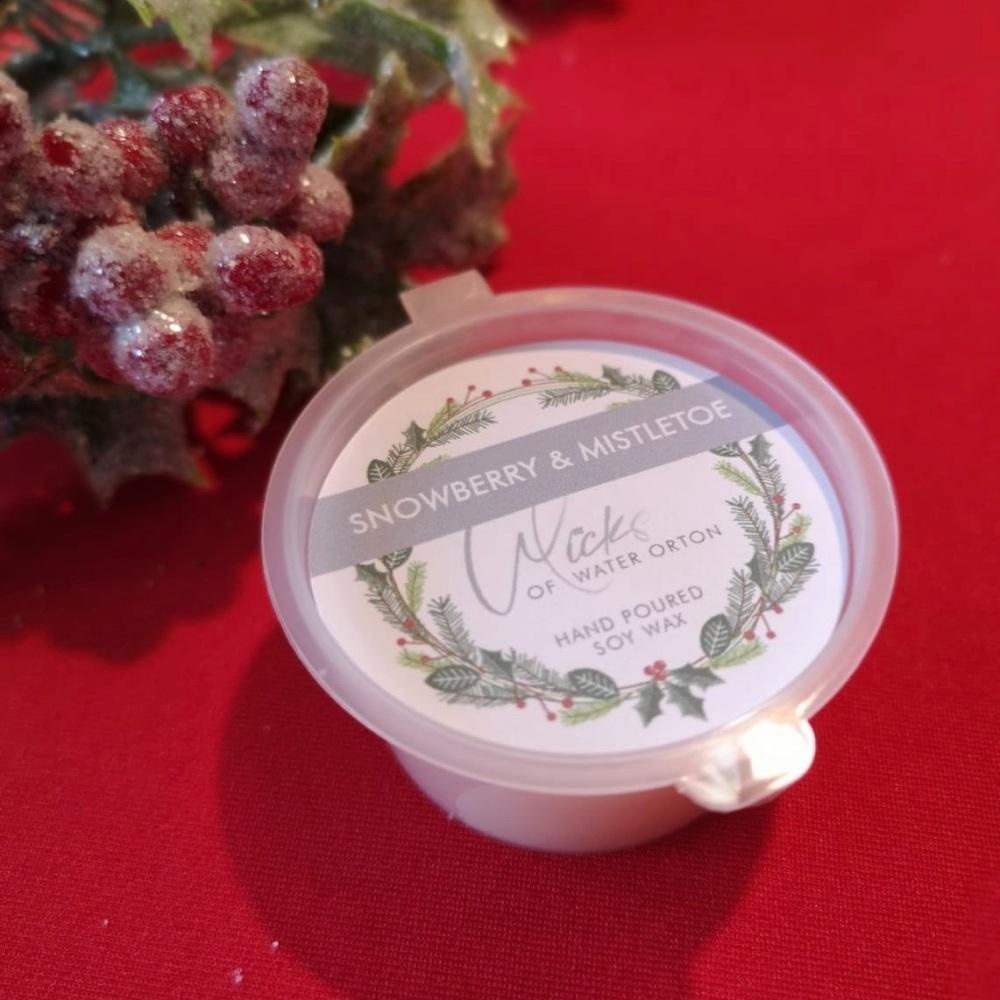 Christmas 2020 | Snowberry & Mistletoe Natural Soy Wax Melt Pot 20g