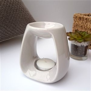 Sweetheart Ceramic Wax Melter - Light Grey