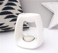 Sweetheart Ceramic Wax Melter - White