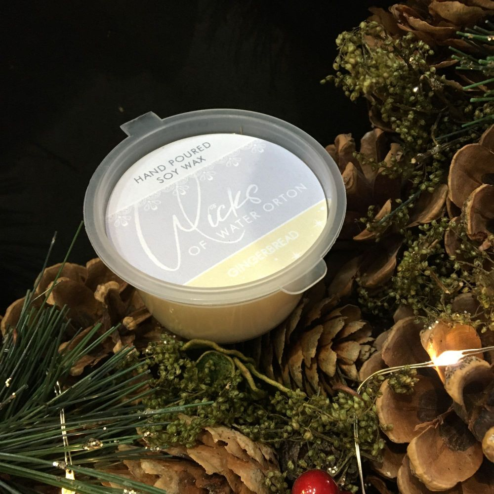 Christmas 2019 | Gingerbread Natural Soy Wax Melt Pot 20g