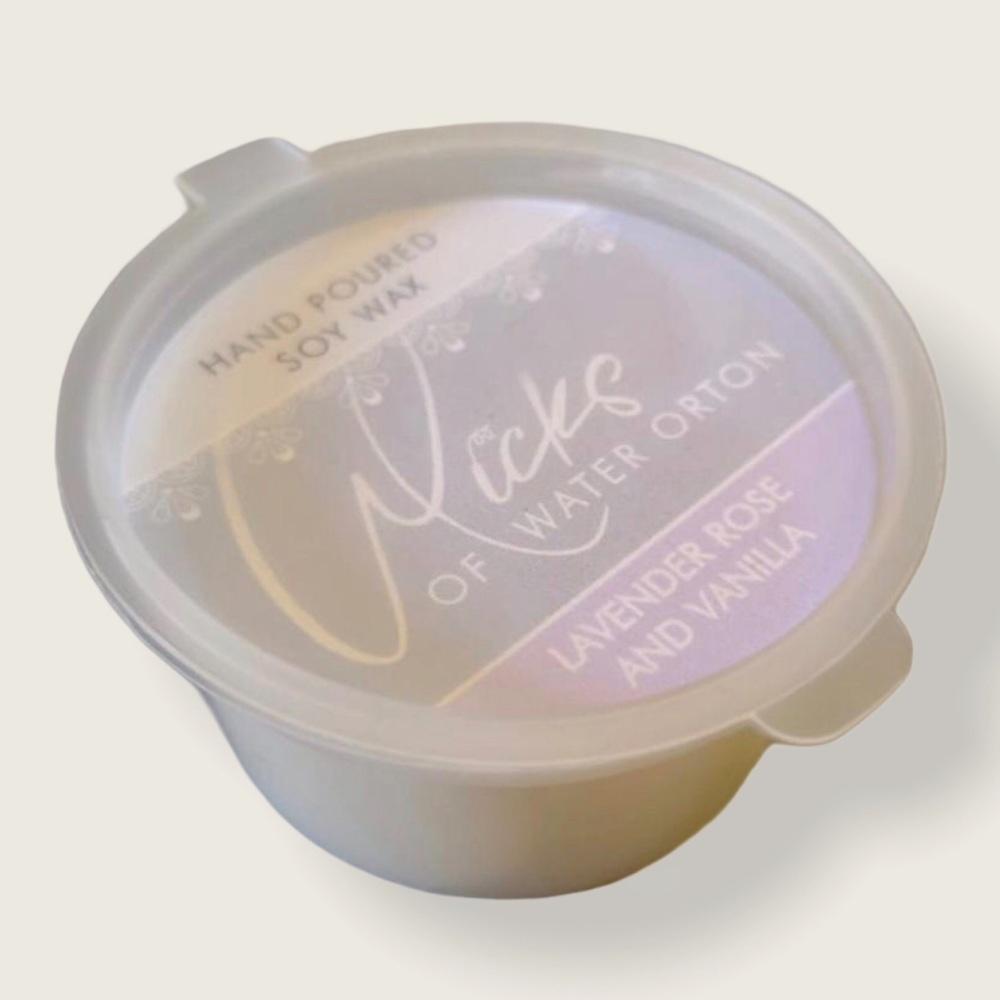 Lavender, Rose and Vanilla Natural Soy Wax Melt Pot 20g