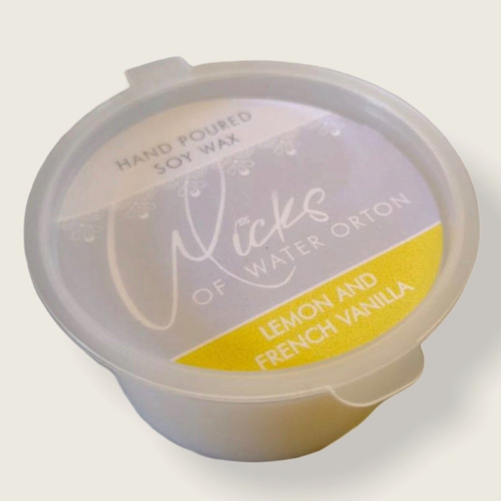 Lemon and Vanilla Natural Soy Wax Melt Pot 20g