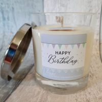 Happy Birthday Soy Wax Candle | choose your fragrance