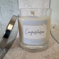 Congratulations Soy Wax Candle | choose your fragrance