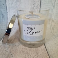 With Love Soy Wax Candle | choose your fragrance