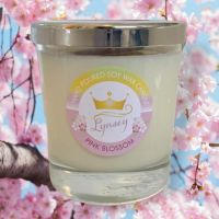 Lynsey Queen Of Clean | PINK BLOSSOM | Natural Soy Candle 200g (Limited Edition)