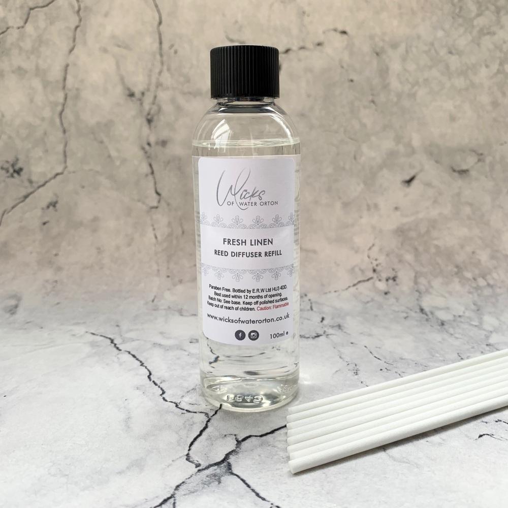 Fresh Linen Luxury Reed Diffuser REFILL