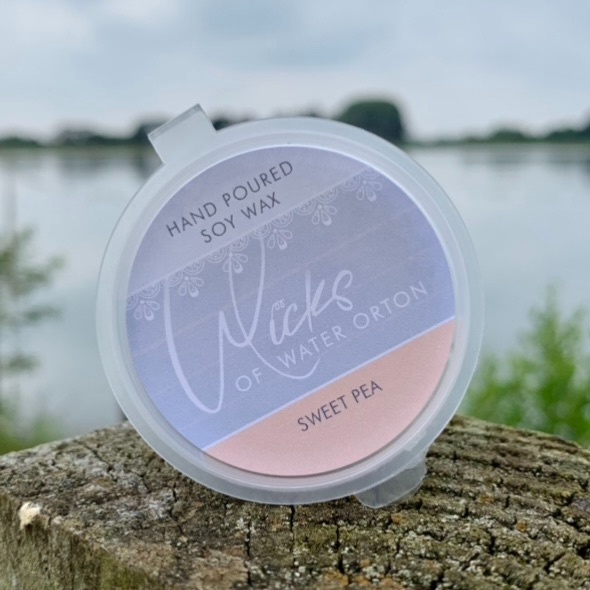 Sweet Pea Natural Soy Wax Melt Pot 20g