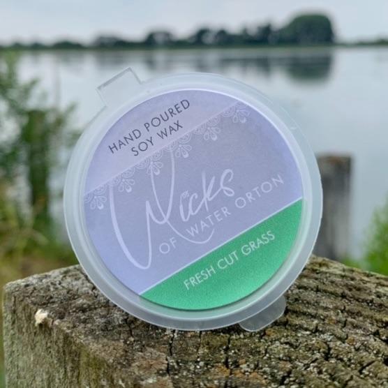 Fresh Cut Grass Natural Soy Wax Melt Pot 20g