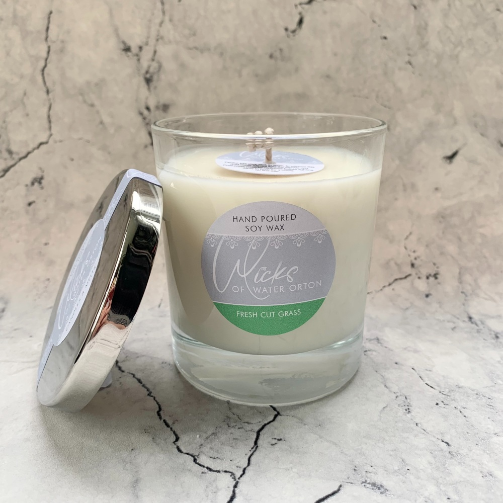 Fresh Cut Grass Natural Soy Candle 200g