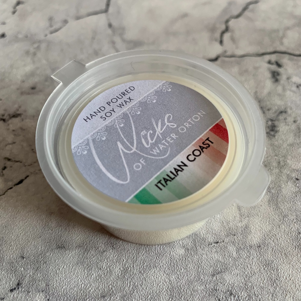 Italian Coast Natural Soy Wax Melt Pot 20g (AUGUST 2021)