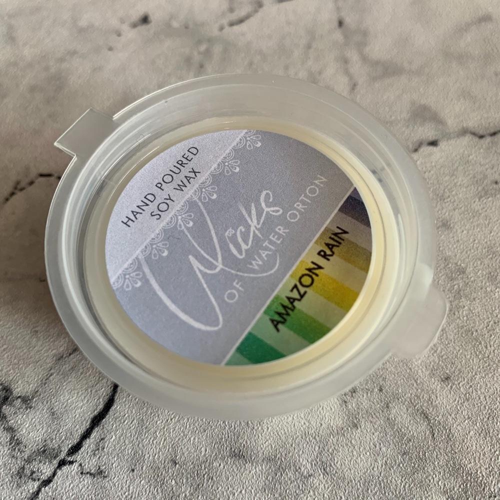 Amazon Rain Natural Soy Wax Melt Pot 20g (AUGUST 2021)