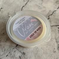 Stick Of Rock Natural Soy Wax Melt Pot 20g (JULY 2021)