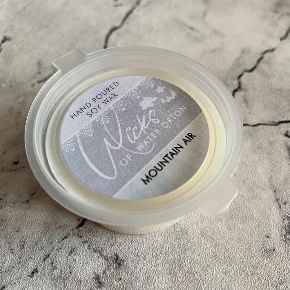 Mountain Air Natural Soy Wax Melt Pot 20g (JULY 2021)