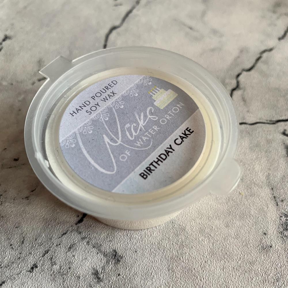 Birthday Cake Natural Soy Wax Melt Pot 20g (JUNE 2021)