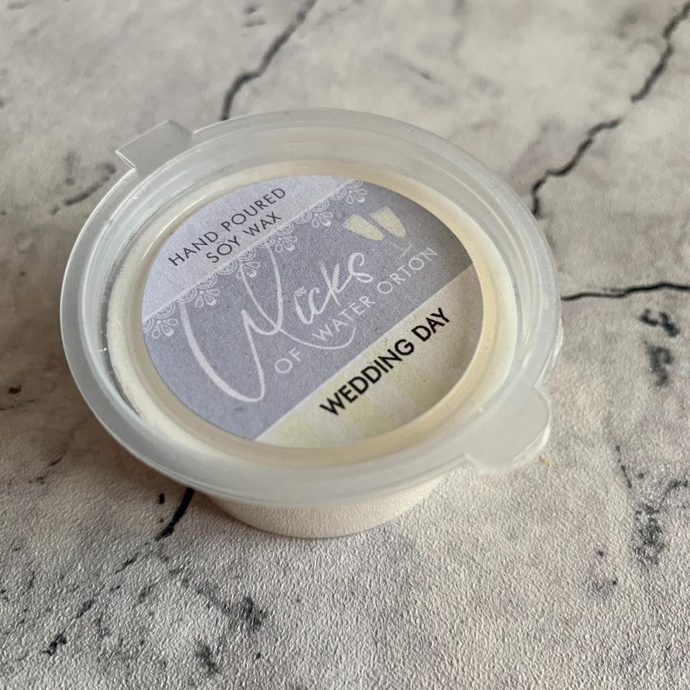 Wedding Day Natural Soy Wax Melt Pot 20g (JUNE 2021)