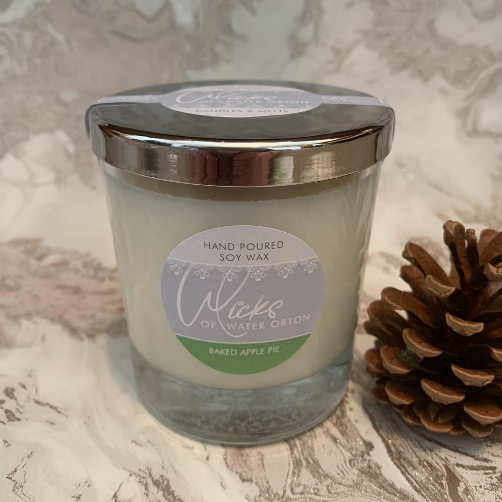 Baked Apple Pie Natural Soy Candle 200g