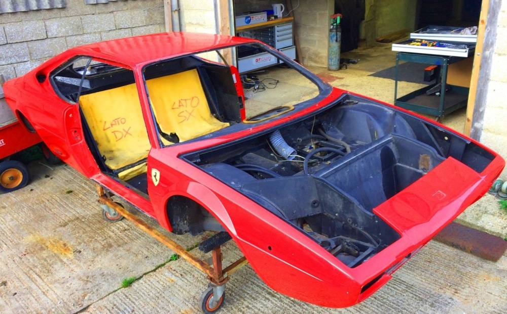 Ferrari 208 / 308 GT4 Body and Chassis