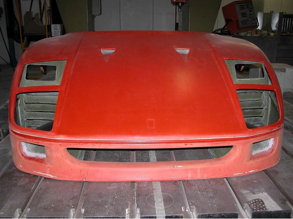 Ferrari F40 Front Hood / Bonnet / End / Clip - 62611000