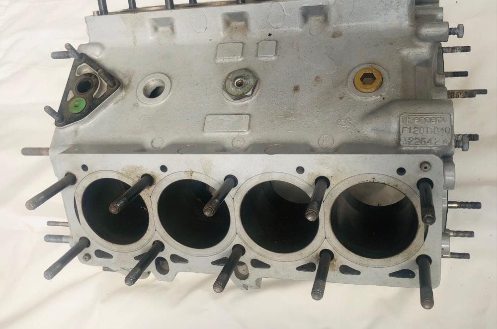 Ferrari F40 Engine Block F120 Crankcase - 132369 / 132368 / 123545