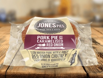 PREMIER CARAMELISED RED ONION PORK PIE