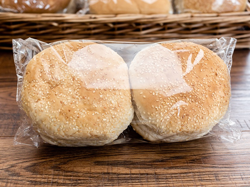 PREMIER SEEDED BURGER ROLLS - 4 PACK